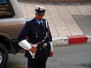 Марокканский полицейский