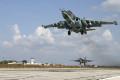 Российские самолеты в Латакии.
