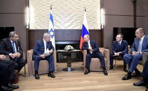Нетаниягу и Путин. Фото: пресс-служба Кремля