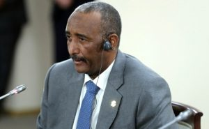 Президент Судана Абд аль-Фатах аль-Бурхан. Фото: пресс-служба Кремля