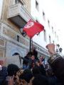 Демонстрация тунисцев. Фото: Википедия